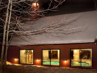 Cozzy Chalet with inside pool, sauna and fireplace