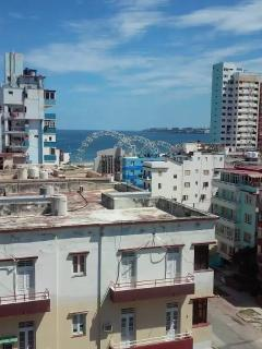 Vista panoramica del hostal