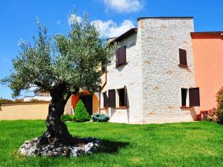 New apartment with garden and pool near Fabriano, Genga
