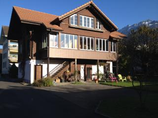 Central apartment in a beautiful big garden, Matten bei Interlaken
