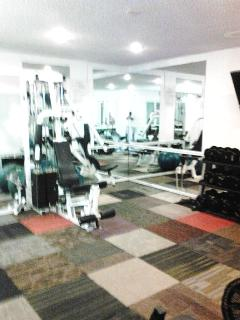 Fitness room within club house area