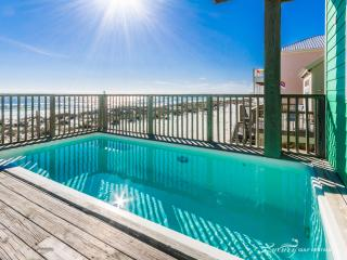 Bella Vista house, right on the Gulf, private pool, Gulf Shores