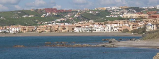 Beach of the apartment Playa Ancha.