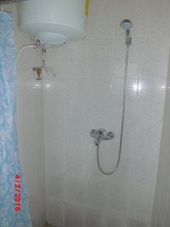 Bathroom Warm water Shower and ALS