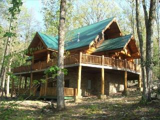 2 Acres***156'Theater***Luxury*** Firepit***Stream, Sevierville