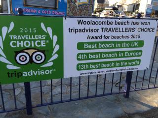 Woolacombe UK Best Beach Award!