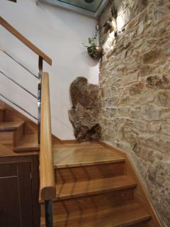 Detalle escaleras, zona común
