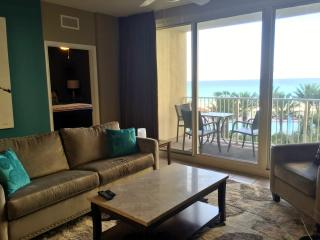 Shores of Panama #418 4th floor unit  beautiful beach/pool views