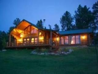 Whitetail Springs, Log home on 17 acres, Custer