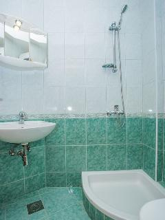 SA1(2): bathroom with toilet