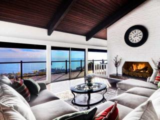 Laguna Beach Mid Century Ocean View Home with Pool, Amazing Catalina and Sunset
