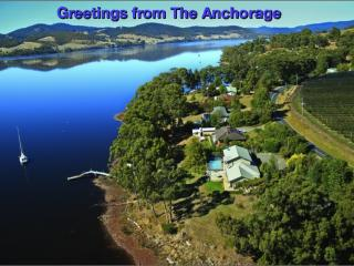 The Anchorage Waterfront Apartment, Castle Forbes Bay