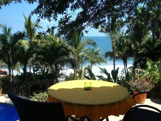 View from Patio to Beach
