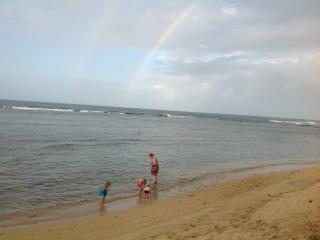 Rainbow  Beach Apts. 1 BR, Ocean View with Patio.