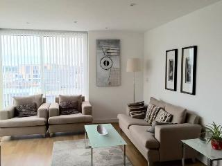 Bright Flat with Modern Deco London