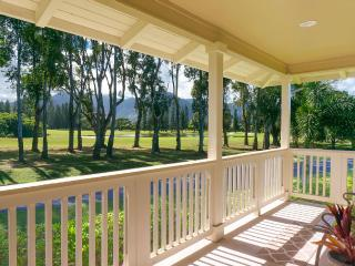 Breathtaking Golf Course, Mountain and lake view, Princeville