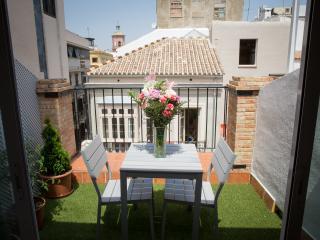 Lovely duplex penthouse terrace Centre and beach, Málaga