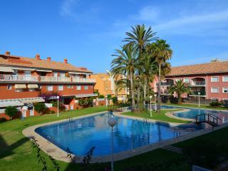 Apartamento, Playa, Piscina, Tenis, Padel, Garaje.