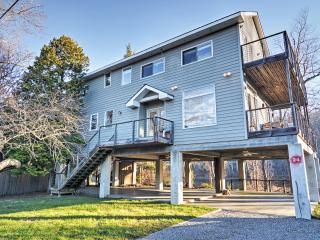 New Listing! Recently Renovated 3BR Point Pleasant Home w/Wifi, Expansive Deck & Spectacular Delaware River Views – Directly Located on the Delaware River!