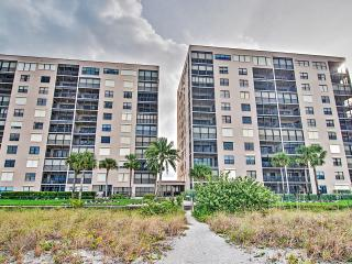 New Listing! Awesome 2BR Indian Rocks Beach Condo w/Wifi, Pool Access, Private Balcony & Incredible Gulf Views - Prime Beachfront Location! Near Golf, Water Activities & More