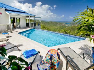 Private Bordeaux Mountain location with ocean views and sea breezes. MAS BOR, Coral Bay