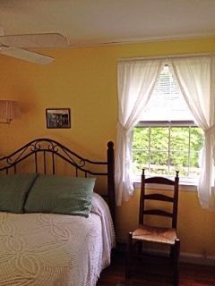 Main Floor Bedroom With Queen