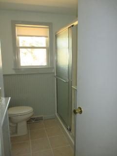 Renovated Bathroom With Shower Only