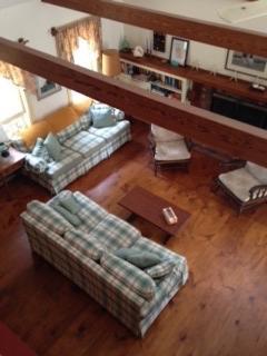 Birds Eye View Of Living Room