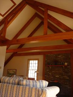 Post And Beam/ High Ceilings
