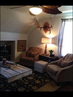 Living room in Suite #3