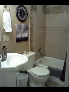 Charming bathroom.