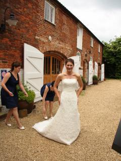 Weddings and honeymoons are popular here
