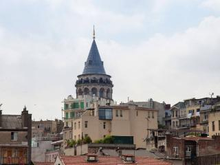 1 BED Penthouse with Sea and Tower View in Galata