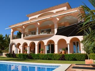 Luxury villa close to beach with heated pool and hot tub