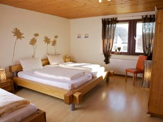 Vacation Apartment in Aulendorf - 861 sqft, 1 bedroom, 1 children's bedroom, max. 2 adults and 2…