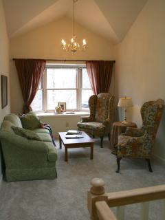 upstairs reading room