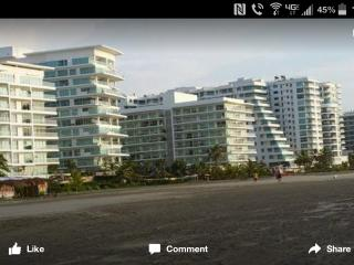 BEAUTIFUL ON THE BEACH, OCEAN FRONT VIEW! Morros 3, Cartagena