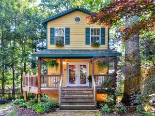 New Listing! 'Mimi's Cottage' Captivating 1BR Asheville Home w/Wifi, Private Wraparound Porch & Outdoor Firepit - Quiet Urban Setting! Minutes from Biltmore Village, Blue Ridge Parkway, Local Restaurants & More!