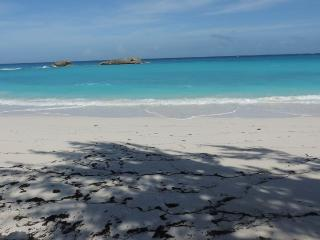 New Lisitng SEA GRAPE Beachfront Free Car, Gran Exuma