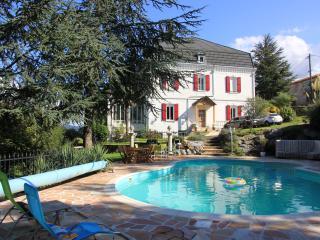 Chambre d'hôte, manoir de caractère avec piscine, Saint-Amans-Soult