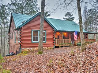 Authentic Creekside 4BR Ellijay Log Cabin w/Decks!