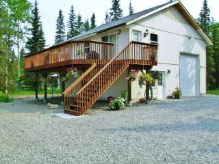 NEW! 1BR Kasilof Apartment Right on Kasilof River!