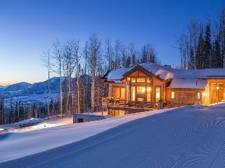Beautiful, one of a kind 4 bedroom home at the top of the gondola  - Cabin on
