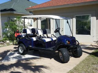 Sandy Lane Getaway! -- Six Seat Golf Cart Included, Port Aransas