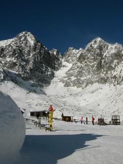 Mountain in January.