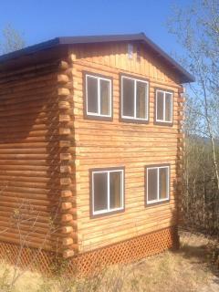 Your Denali Park Log Cabin.