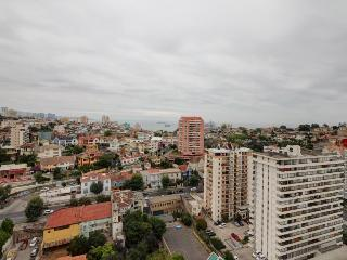 City views, private balcony & shared pool and hot tub in Chile getaway!