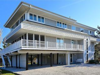 Just steps to beach with views of the ocean and bay from the upper deck!, Cedar Neck