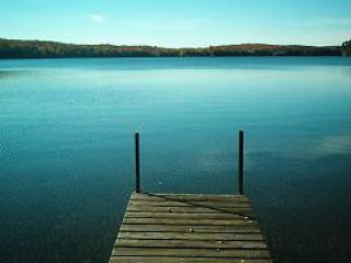 Dock overlooking Steenburg Lake