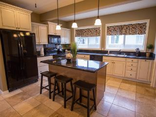 2 full kitchens-perfect for larger groups!This kitchen is located downstairs and has 2 refrigerators